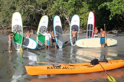 Groups Tours Kayak Jaco Beach
