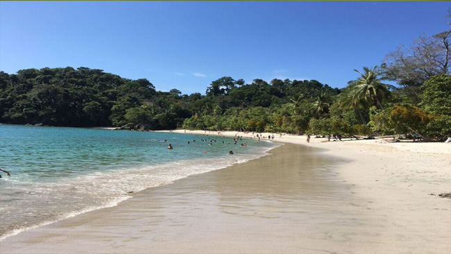 Manuel Antonio White Sandy Beach | Manuel Antonio Beach