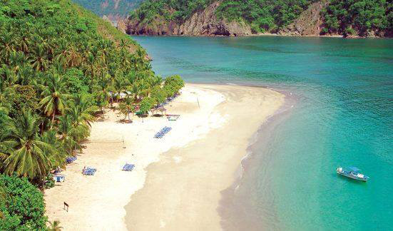 Catamaran to Tortuga Island full day tour
