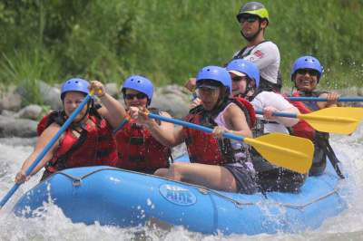 White Water Rafting jaco Beach