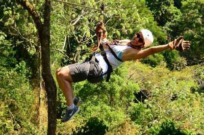 Zip lining Jaco beach | Los suenos Canopy tour
